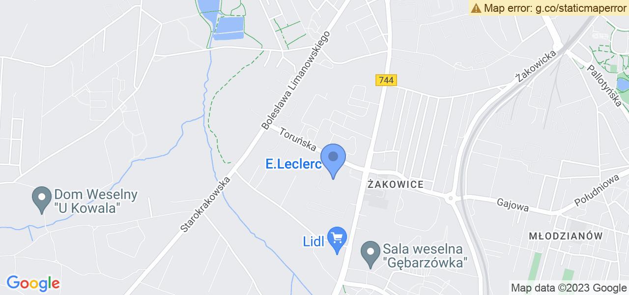Jedna z ulic w Radomiu – Toruńska i mapa dostępnych punktów wysyłki uszkodzonej turbiny do autoryzowanego serwisu regeneracji