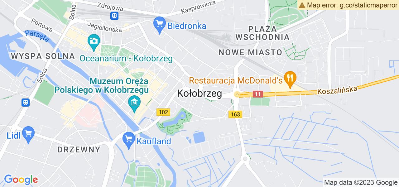 Osiedle Radzikowo I w Kołobrzegu – w tych punktach ekspresowo wyślesz turbinę do autoryzowanego serwisu