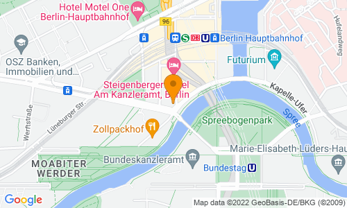 Karte mit Standort