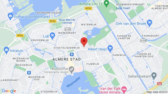 Nissan+Bochane+Almere op Google Maps