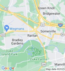 Raritan NJ Map