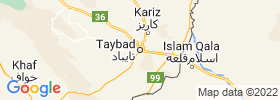 Taybad map