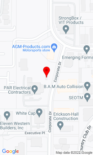 Google Map of Red Mountain Equipment 525 Corporate Drive, Escondido, CA, 92029