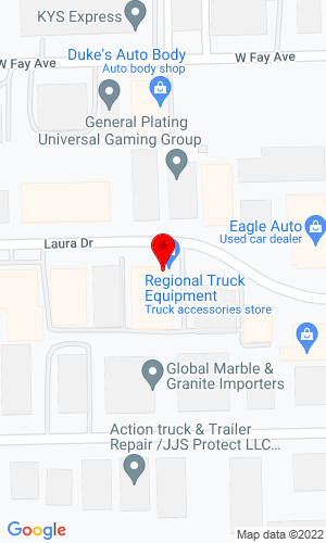 Google Map of Regional Truck Equipment Co  255 Laura Drive, Addison, IL, 60101