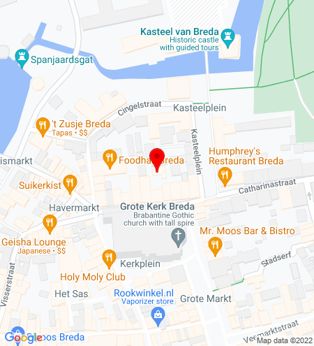 Google Map of Reigerstraat 16 4811 XB Breda