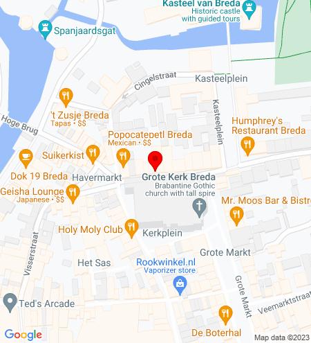 Google Map of Reigerstraat 24 4811 XB Breda
