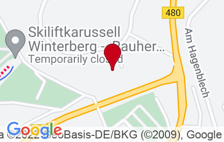 Google Map of Remmeswiese 4A, 59955 Winterberg