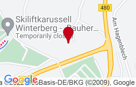Google Map of Remmeswiese 4A, 59955 Winterberg