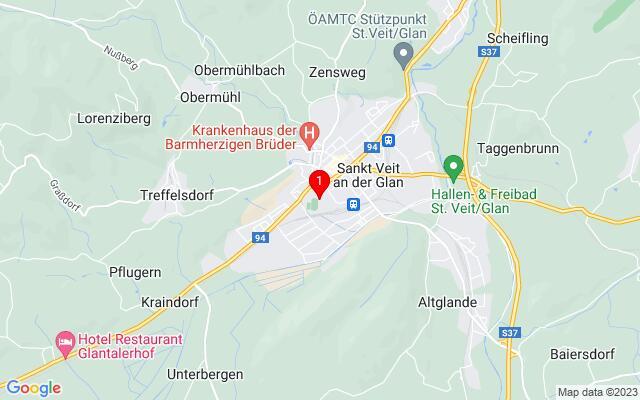 Routenplaner Rennbahngelände,+9300+Sankt+Veit+an+der+Glan