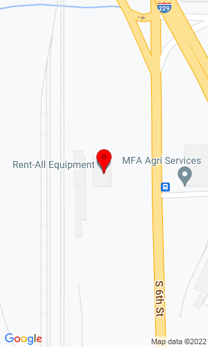 Google Map of Rent - All Equipment 3702 King Hill Ave., St Joseph, MO, 64504