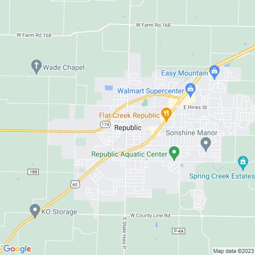 Map of Republic, MO