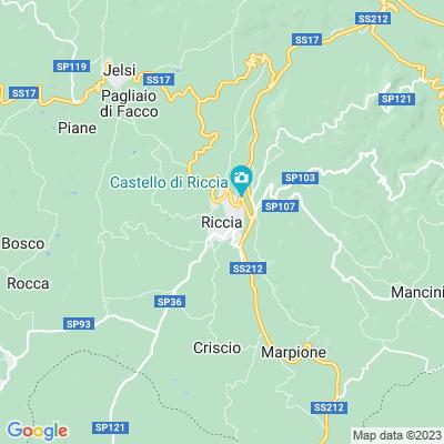cartina Riccia