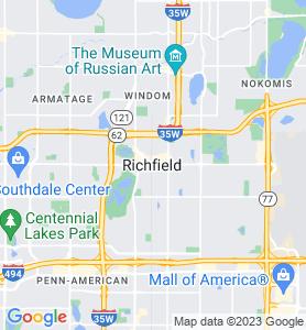 Richfield MN Map