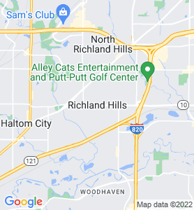 Richland Hills TX Map