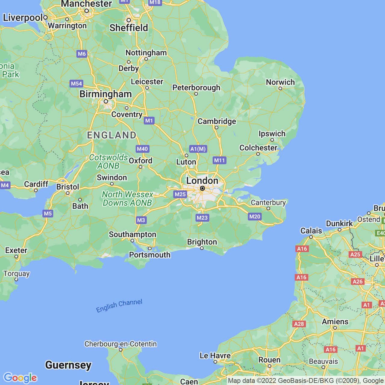 Richmond, England Map