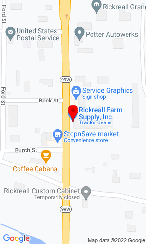 Google Map of Rickreall Farm Supply, Inc. 130 Main St. , Rickreall, OR, 97371