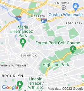 Ridgewood NY Map