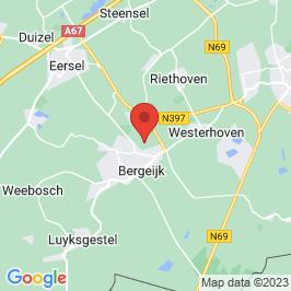 Google map of Rijksmonument de Ploeg, Bergeijk