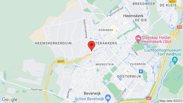 Heemskerk op Google Maps