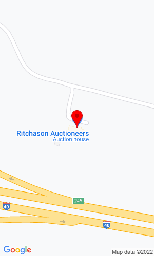 Google Map of Ritchason Auctioneers, Inc. 7538 Linwood Road, Lebanon, TN, 37090