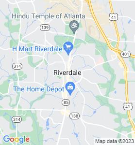 Riverdale GA Map