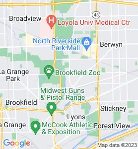 Riverside IL Map