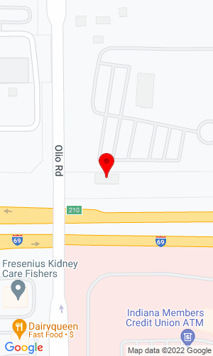 Google Map of Riverwood Sapp Equipment 14000 N. Olio Road, Noblesville , IN, 46060