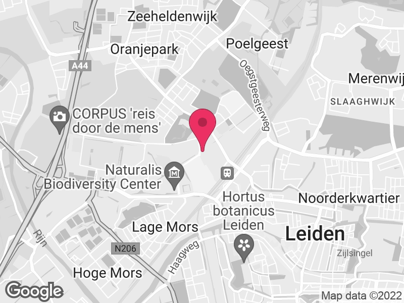 Google Map of Rivierduinen Sandifortdreef 19 2333 ZZ Leiden