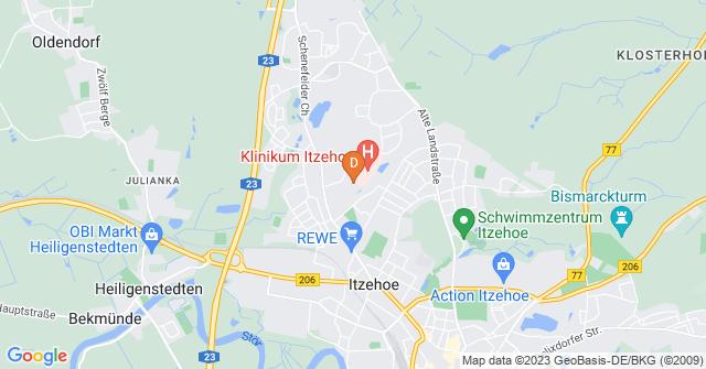 Klinikum Itzehoe, Robert-Koch-Str. 2, 25524 Itzehoe