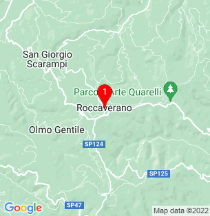 Google Map of Roccaverano, Piedmont, Italy