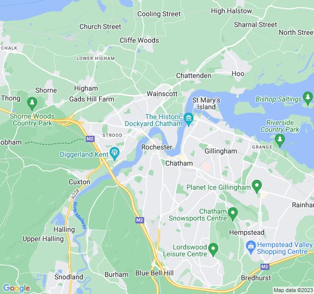Website Designer Rochester Google map of location