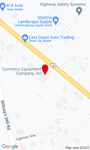 Google Map of Rodio Tractor Sales Inc 717 White Horse Pike, Hammonton, NJ, 8037