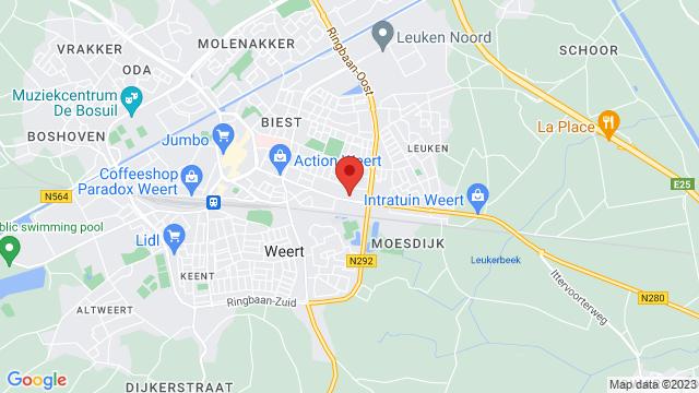 Auto+Niroc+Weert op Google Maps