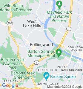 Rollingwood TX Map
