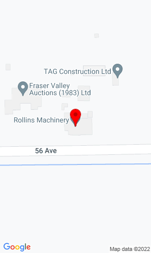 Google Map of Rollins Machinery 21869 56th Ave, Langley, BC, V2Y 2M9,