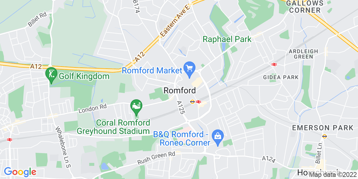 Map: Care Manager job in Romford