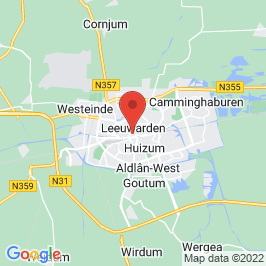 Google map of Pakhuis Hartelust, Leeuwarden