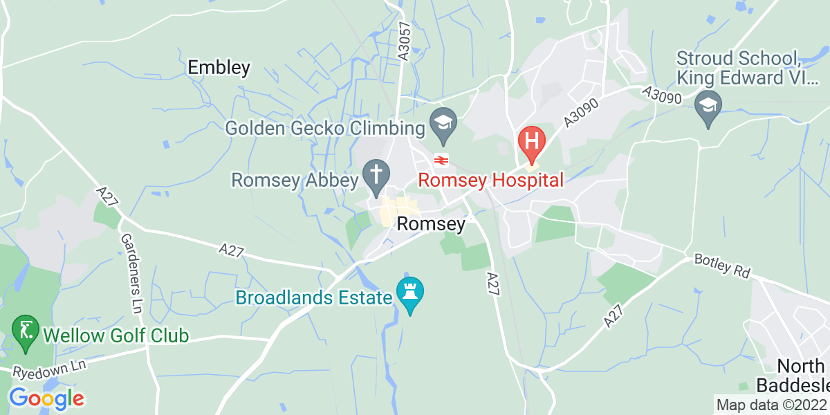 Map: Mini Bus Driver  job role in Romsey