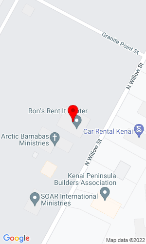 Google Map of Ron's Rent It Center Inc 145 North Willow St, Kenai, AK, 99611