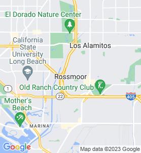 Rossmoor CA Map