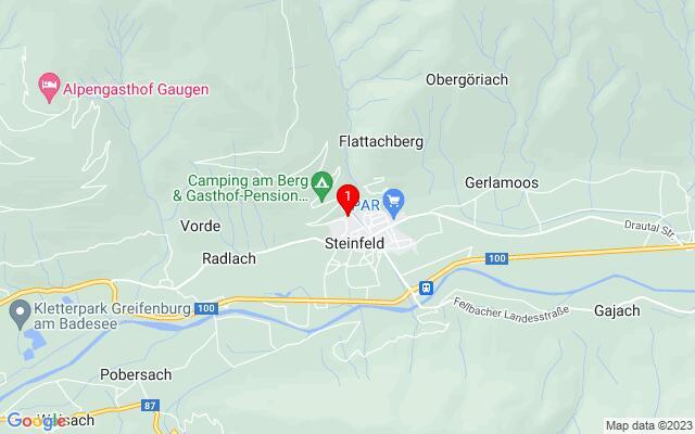 Routenplaner Rottensteinerstraße+3a+,+9754+Steinfeld