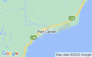 Map of Camping Lac Walker Réserve Faunique De Sept-Îles-Port-Cartier