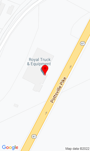Google Map of Royal Truck & Equipment  6910 Rt 309, Coopersburg , PA, 18092