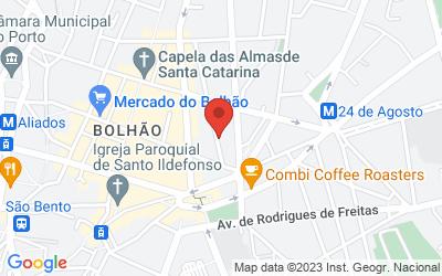 Map of Rua Doutor Alves da Veiga 56, Porto, Portugal