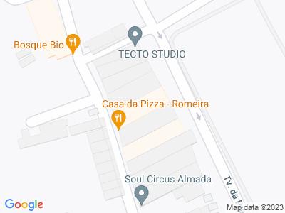 Google Map of Rua Manuel José Gomes 79, Almada,Portugal
