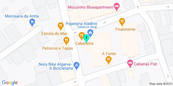 Google Map of Rua Mousinho Albuquerque n°4 8800-591 Cabanas de Tavira Tavira