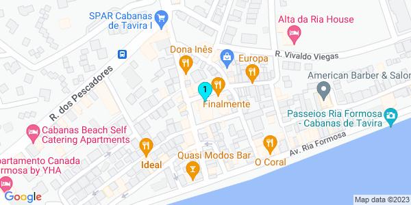 Google Map of Rua Mouzinho de Albuquerque ,8 8800-591 Cabanas