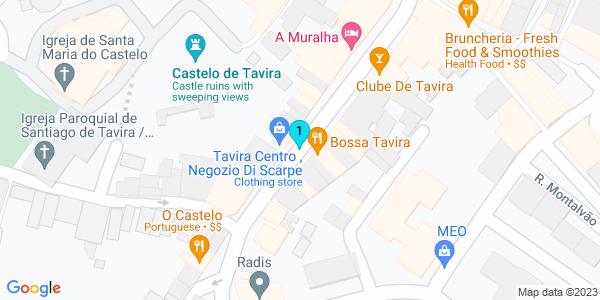 Google Map of Rua da Liberdade 8800-399 Tavira