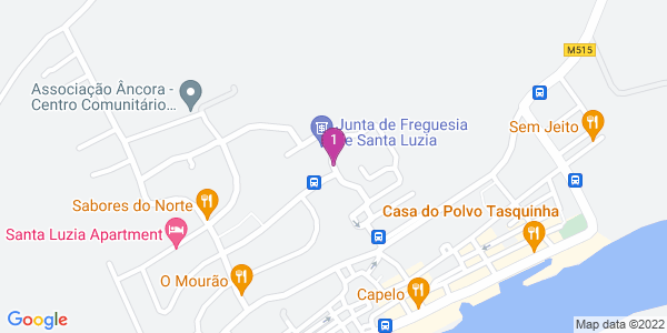 Google Map of Rua de Angola 8800-539 Santa Luzia Tavira 8800 Tavira, Portugal