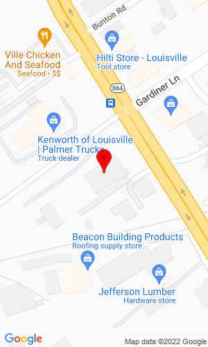 Google Map of Rudd Equipment Company 4344 Poplar Level Road, Louisville, KY, 40213,
